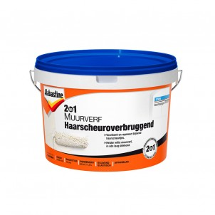 2in1 Muurverf Haarscheuroverbruggend 7,5L (8710839140571)