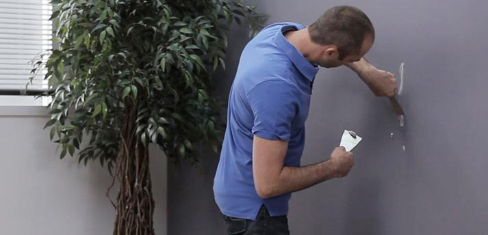 Alabastine Sneldrogende Muurvuller - hoe te gebruiken