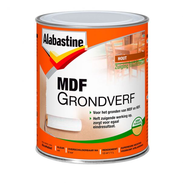 Fabulous MDF 2in1 Grondverf - Alabastine SM68