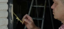 Alabastine - inbraakschade herstellen