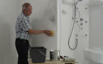 Schimmel in badkamer – Schimmelbestendige verf – Alabastine