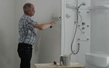 In muurverf badkamer en keuken schimmelbestendig alabastine