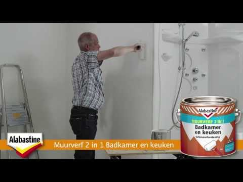 Badkamer Witten Schimmel : Schimmel in badkamer u schimmelbestendige verf u alabastine