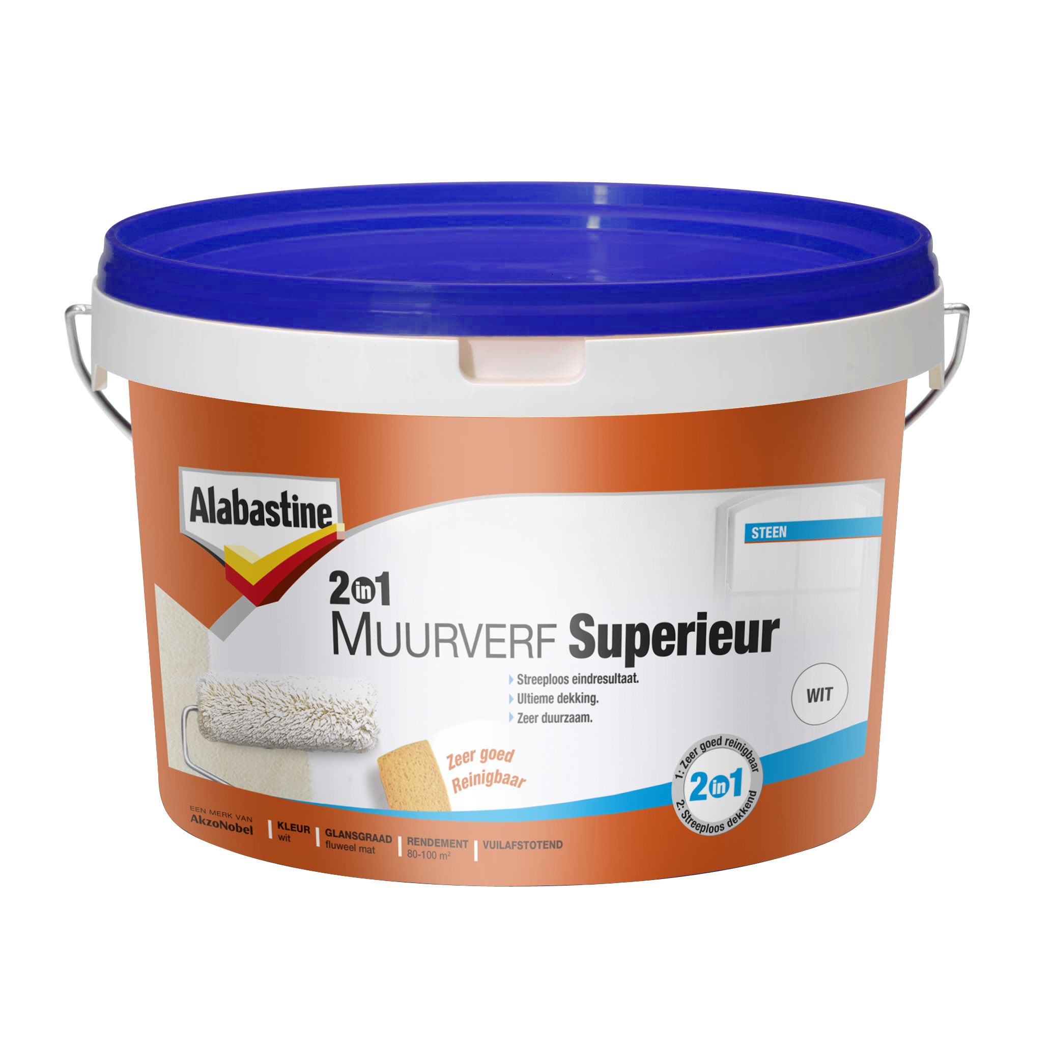 Alabastine muurverf 2 in 1