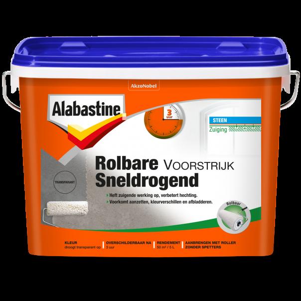 Rolbare Voorstrijk Sneldrogend Transparant - Alabastine