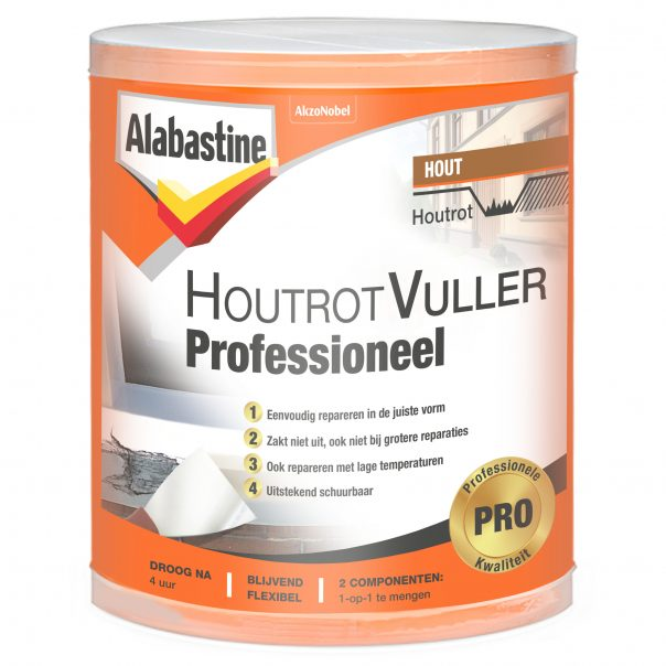 Top Houtrotvuller Professioneel - Alabastine MR32
